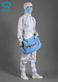 China ISO14001 Certificated Customized ESD Cleanroom Shoes ESD Fabric For Unisex supplier