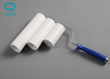 China PP/PE Material 6' Inch Cleanroom Sticky Roller For Electronics Factory supplier