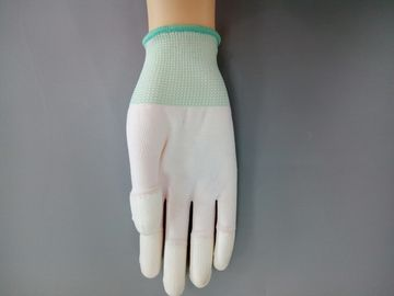 Anti Static ESD Gloves Finger Tip Coatings With Carbon Filament S - XL