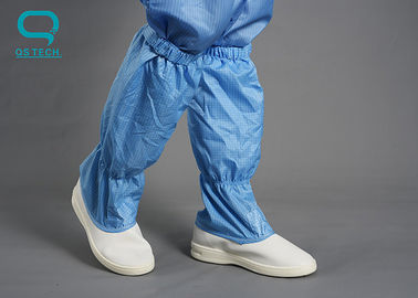 Light Weight ESD Cleanroom Shoes 22.5-32.5cm Size PU Sole Material