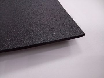 China Conductive Textured Finish ESD Anti Static Mat Chemical Resistant Black Color distributor